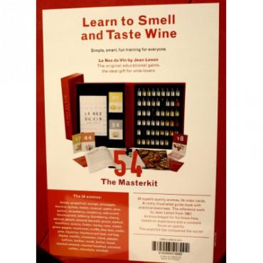 Le Nez Du Vin The MasterKit 54 aromas