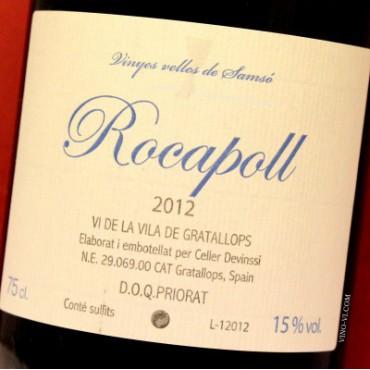 Rocapoll 2012 Vi de la Vila de Gratallops