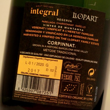 Llopart Brut Nature Integral