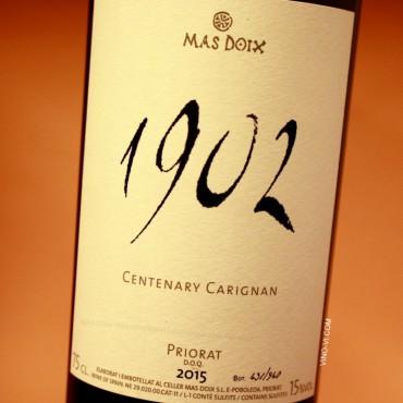 Mas Doix 1902 Centenary Carignan 2015