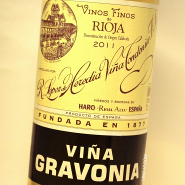 Viña Gravonia Blanco Crianza 2011