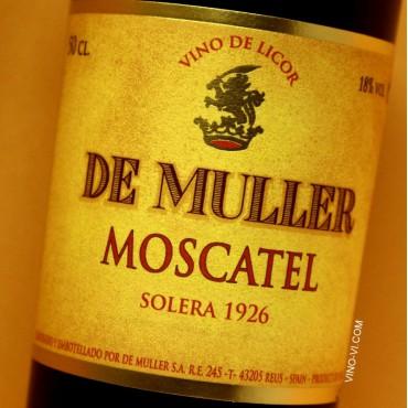 De Muller Moscatel Rancio Solera 1926 - 50 cl