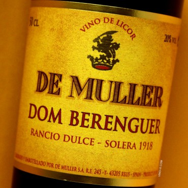 De Muller Dom Berenguer Solera 1918 Rancio Dulce 50cl