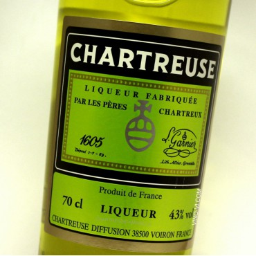 Chartreuse Yellow 43% vol