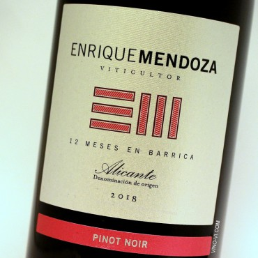 Enrique Mendoza Pinot Noir 2018