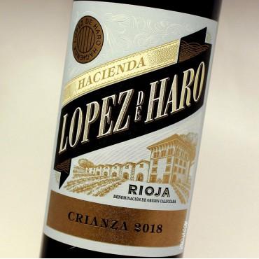 Hacienda Lopez de Haro Crianza 2018