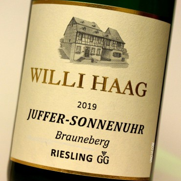 Willi Haag 2019 Juffer-Sonnenuhr Brauneberg GG