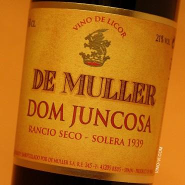 De Muller Dom Juncosa Solera 1939 - 50 cl