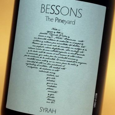Bessons The Pineyard Syrah 2019