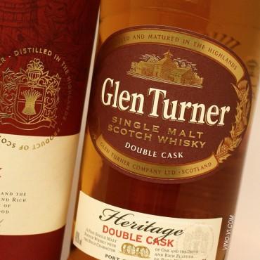 Glen Turner Heritage Single Malt Whisky Double Cask