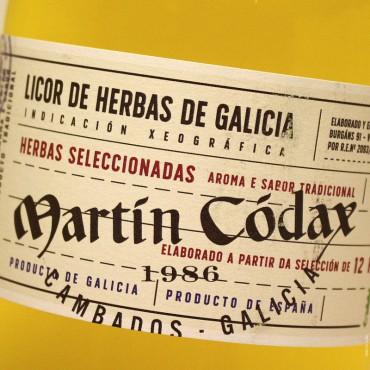 Martín Códax Licor de Hierbas