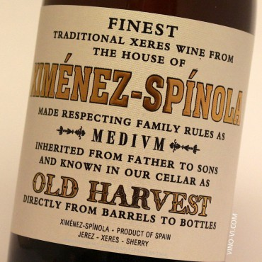 Ximénez-Spínola Old Harvest Pedro Ximénez