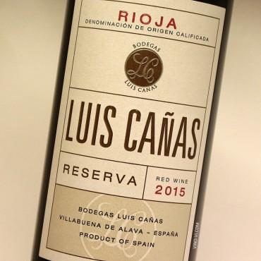Luis Cañas Reserva 2015